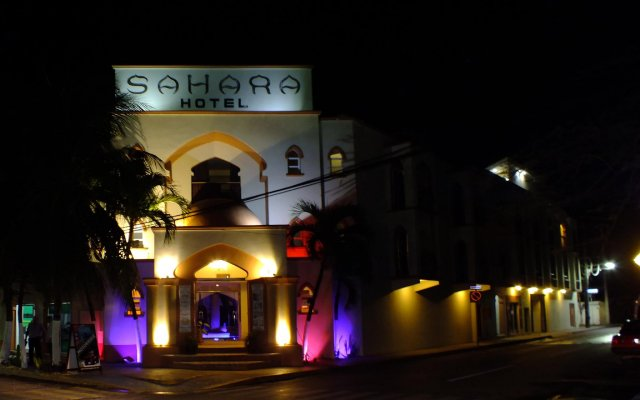 Отель Sahara Мексика, Плая-дель-Кармен - отзывы, цены и фото номеров - забронировать отель Sahara онлайн вид на фасад
