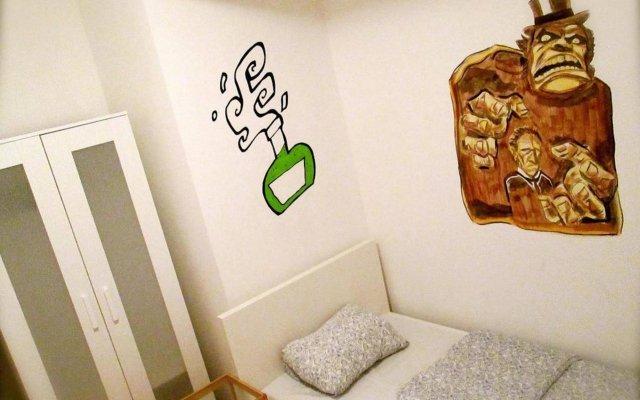 Penthouse Privates Hostel Будапешт комната для гостей