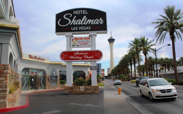 Отель Shalimar Hotel of Las Vegas США, Лас-Вегас - отзывы, цены и фото номеров - забронировать отель Shalimar Hotel of Las Vegas онлайн вид на фасад