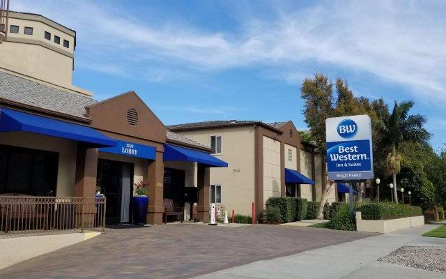 Отель Best Western Royal Palace Inn & Suites США, Лос-Анджелес - отзывы, цены и фото номеров - забронировать отель Best Western Royal Palace Inn & Suites онлайн вид на фасад