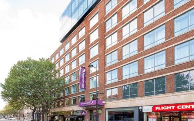 Отель Premier Inn London St.Pancras Великобритания, Лондон - отзывы, цены и фото номеров - забронировать отель Premier Inn London St.Pancras онлайн вид на фасад