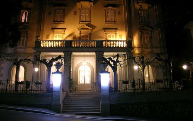 Hotel Alexander Palme Кьянчиано Терме вид на фасад