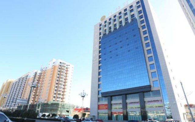 Ji Hotel (Yulin High-tech Development Zone) вид на фасад