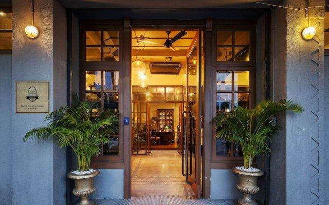 Отель Bangkok Publishing Residence Бангкок вид на фасад