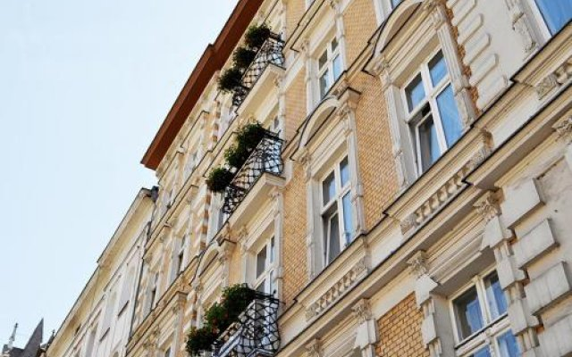 Отель Kamienica Bankowa Residence Познань вид на фасад
