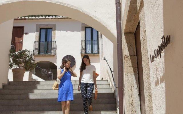 Hotel El Convent de Begur вид на фасад