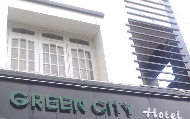 Отель Dalat Green City Далат вид на фасад