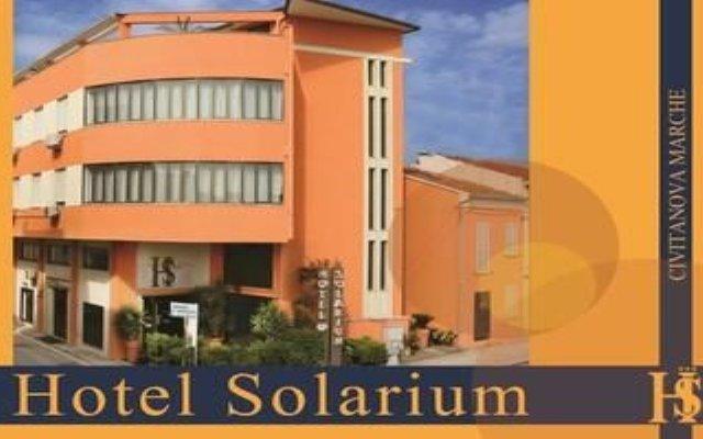 Hotel Solarium Чивитанова-Марке вид на фасад