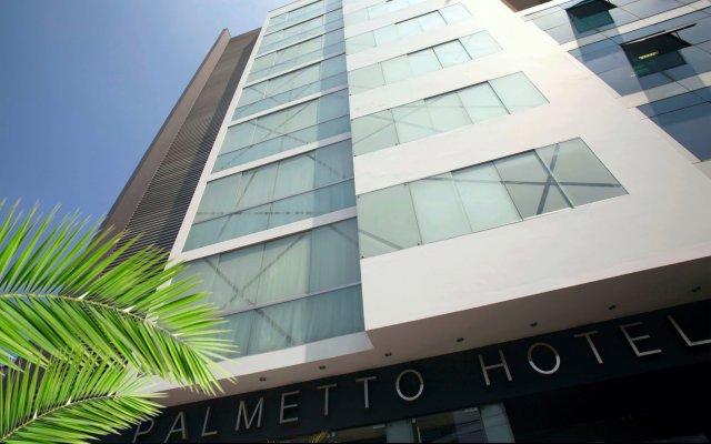 Отель Palmetto Hotel Business San Borja Перу, Лима - отзывы, цены и фото номеров - забронировать отель Palmetto Hotel Business San Borja онлайн вид на фасад