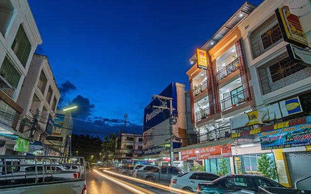 Отель Lada Krabi Express вид на фасад