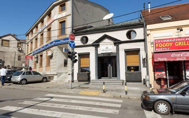 Отель Villa Akacija Сербия, Белград - отзывы, цены и фото номеров - забронировать отель Villa Akacija онлайн вид на фасад