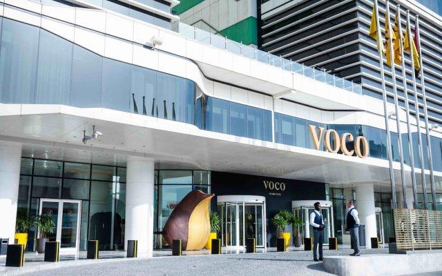Отель Voco Dubai вид на фасад