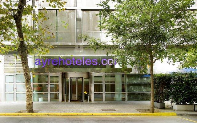 Отель Ayre Hotel Caspe Испания, Барселона - 8 отзывов об отеле, цены и фото номеров - забронировать отель Ayre Hotel Caspe онлайн вид на фасад