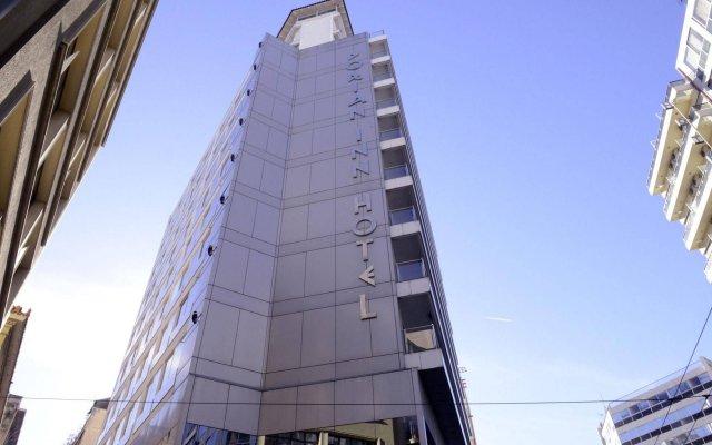 Отель Dorian Inn Hotel Греция, Афины - 7 отзывов об отеле, цены и фото номеров - забронировать отель Dorian Inn Hotel онлайн вид на фасад