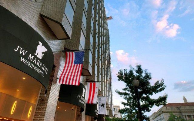 Отель JW Marriott Hotel Washington DC США, Вашингтон - отзывы, цены и фото номеров - забронировать отель JW Marriott Hotel Washington DC онлайн вид на фасад