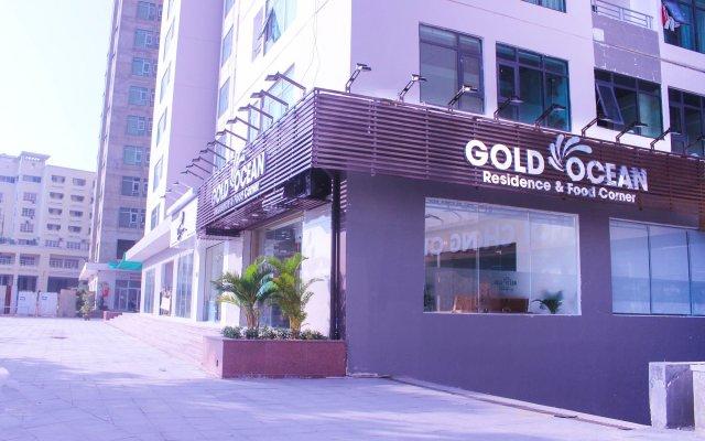 Отель Gold Oceanus Нячанг вид на фасад