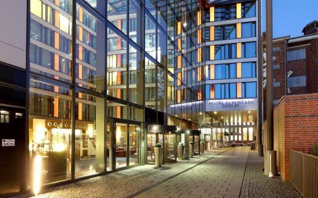 Отель Eurostars Berlin Германия, Берлин - 8 отзывов об отеле, цены и фото номеров - забронировать отель Eurostars Berlin онлайн вид на фасад