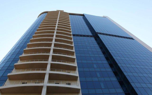 Гостиница SK Royal Москва вид на фасад