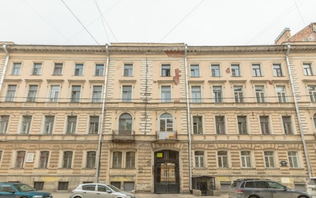 Гостиница Apartaments on Saperniy 8 вид на фасад