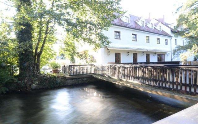 Отель Schleuse by Lehmann Hotels Германия, Мюнхен - отзывы, цены и фото номеров - забронировать отель Schleuse by Lehmann Hotels онлайн вид на фасад