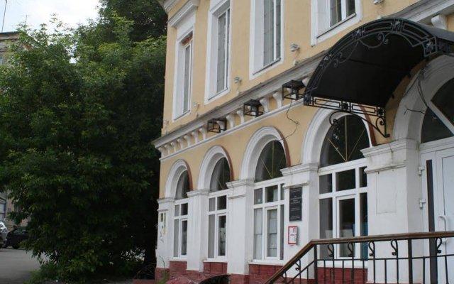 Hotel Ryzhaya Sara Нижний Новгород вид на фасад