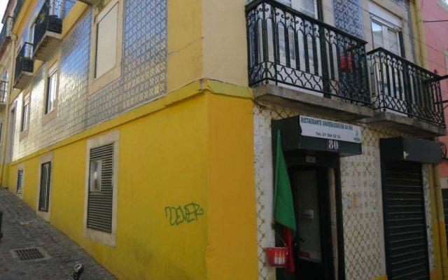 Отель Encanto da Paz Лиссабон вид на фасад