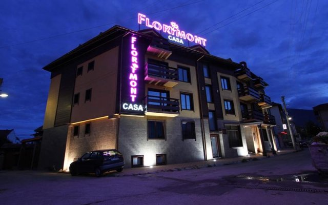 Отель Florimont Casa Банско вид на фасад