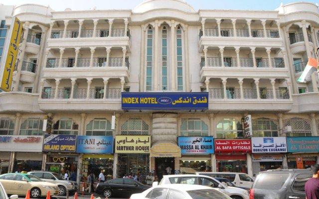 Index Hotel вид на фасад