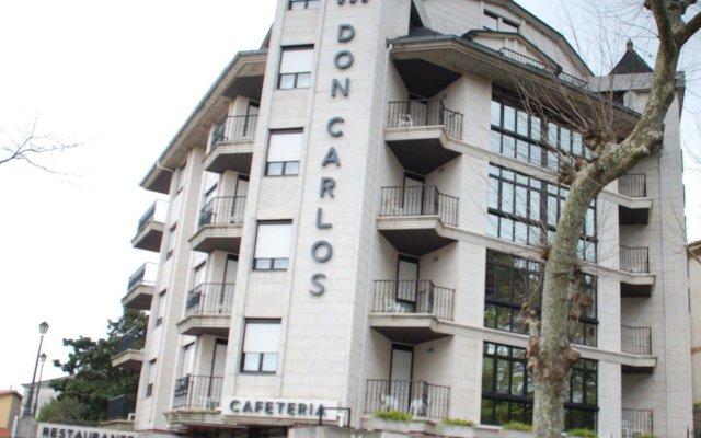 Отель Apartamentos Don Carlos Испания, Сантандер - отзывы, цены и фото номеров - забронировать отель Apartamentos Don Carlos онлайн вид на фасад