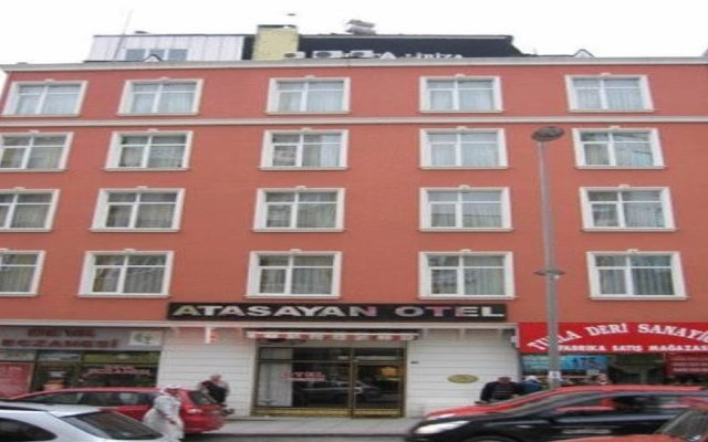 Hotel Atasayan вид на фасад