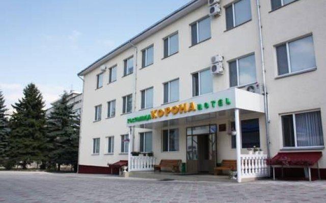 Гостиница Корона в Нальчике 1 отзыв об отеле, цены и фото номеров - забронировать гостиницу Корона онлайн Нальчик вид на фасад