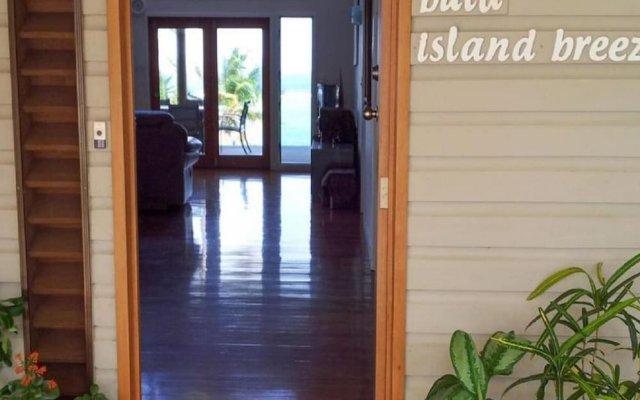 Отель Island Breeze Fiji Савусаву вид на фасад