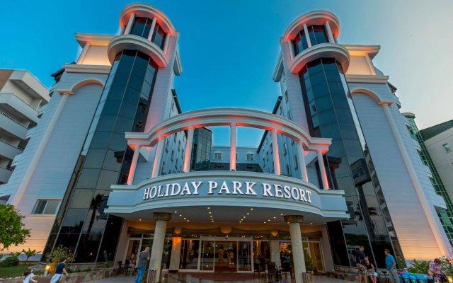Отель Holiday Park Resort Окурджалар вид на фасад