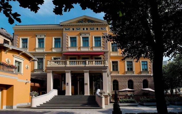 Отель Gallery Park Hotel & SPA, a Châteaux & Hôtels Collection Латвия, Рига - 1 отзыв об отеле, цены и фото номеров - забронировать отель Gallery Park Hotel & SPA, a Châteaux & Hôtels Collection онлайн вид на фасад