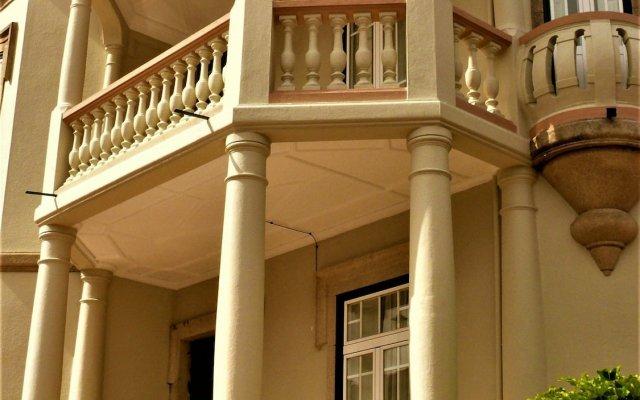 Отель House Of Pandora Arts Mansion & Spa Порту вид на фасад