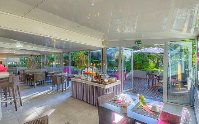 Отель Cézanne Hôtel Spa Франция, Канны - 1 отзыв об отеле, цены и фото номеров - забронировать отель Cézanne Hôtel Spa онлайн вид на фасад