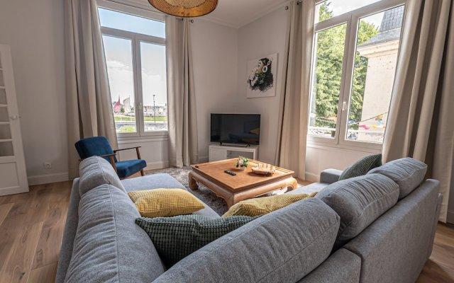 Отель Appartement Les Orchidées Corneille Saumur Франция, Сомюр - отзывы, цены и фото номеров - забронировать отель Appartement Les Orchidées Corneille Saumur онлайн