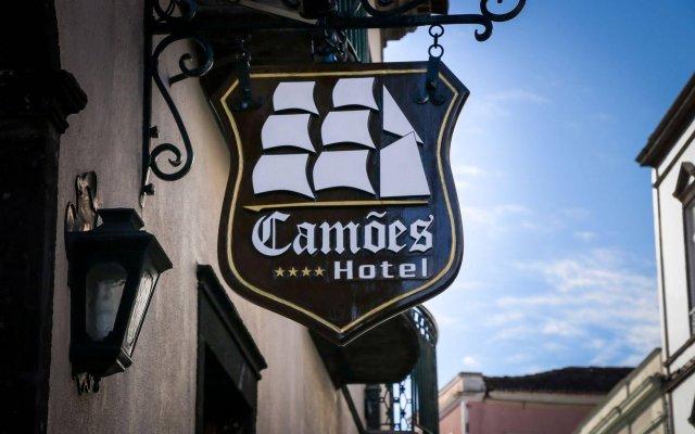 Hotel Camões Понта-Делгада вид на фасад