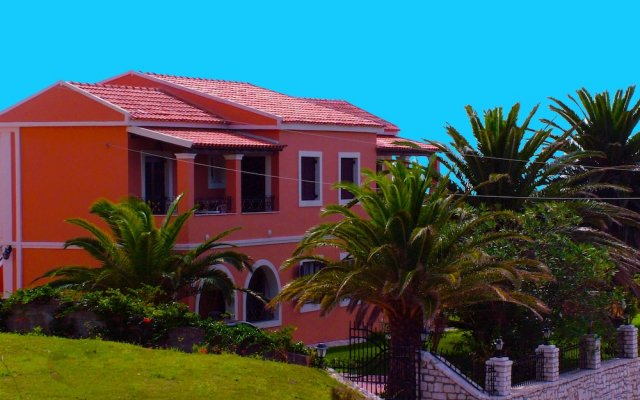 Отель Villa Voula вид на фасад