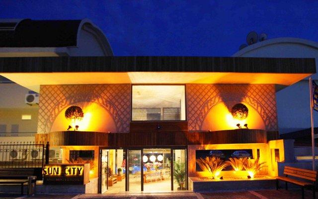 Sun City Apartments & Hotel Турция, Сиде - отзывы, цены и фото номеров - забронировать отель Sun City Apartments & Hotel онлайн вид на фасад
