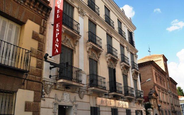 Hotel España вид на фасад