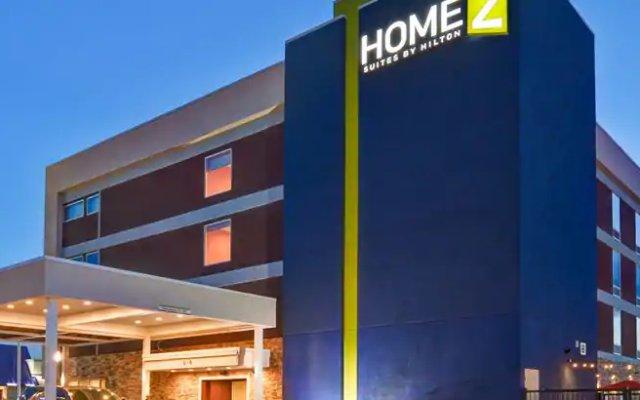 Отель Home2 Suites by Hilton Meridian вид на фасад
