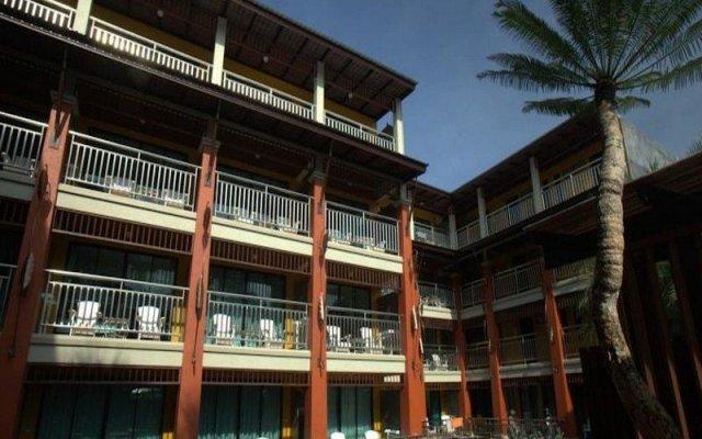 Отель Print Kamala Resort вид на фасад