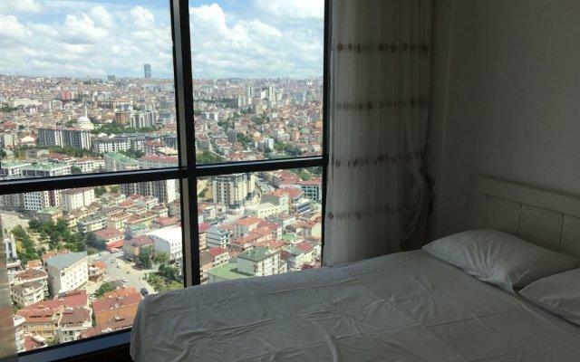 Отель Dumankaya Ikon 32 Floor Duplex B комната для гостей