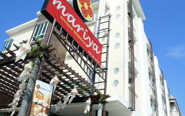 Отель Mariya Boutique Residence Бангкок вид на фасад