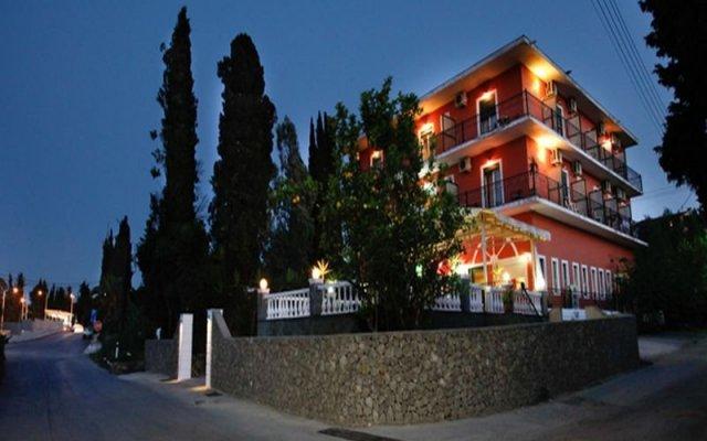 Отель Pyrros Греция, Корфу - 1 отзыв об отеле, цены и фото номеров - забронировать отель Pyrros онлайн вид на фасад