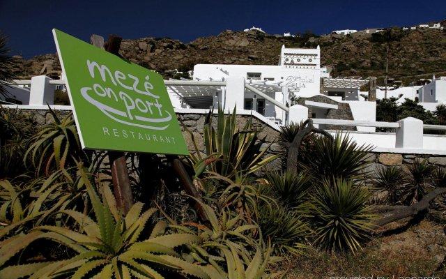 Отель Olia Hotel Греция, Турлос - 1 отзыв об отеле, цены и фото номеров - забронировать отель Olia Hotel онлайн вид на фасад