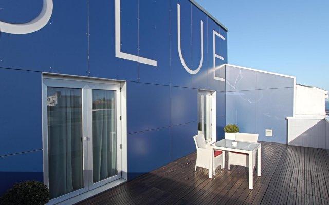 Hotel Blue Coruña вид на фасад