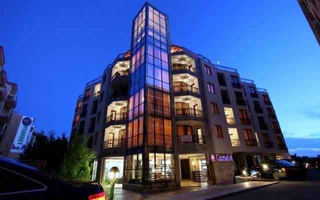 Отель Camelot Residence Болгария, Солнечный берег - отзывы, цены и фото номеров - забронировать отель Camelot Residence онлайн вид на фасад