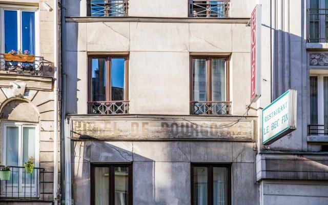 Отель Résidence Bourgogne Франция, Париж - 7 отзывов об отеле, цены и фото номеров - забронировать отель Résidence Bourgogne онлайн вид на фасад
